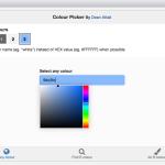 Rで解析:インタラクティブにカラーコードを取得する「colourpicker」パッケージ